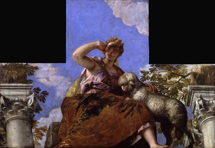 Paolo Veronese~Gentleness - Old master