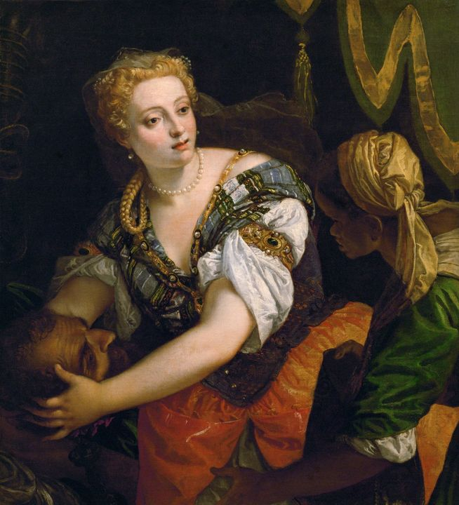 Paolo Veronese~Judith with the Head - Old master