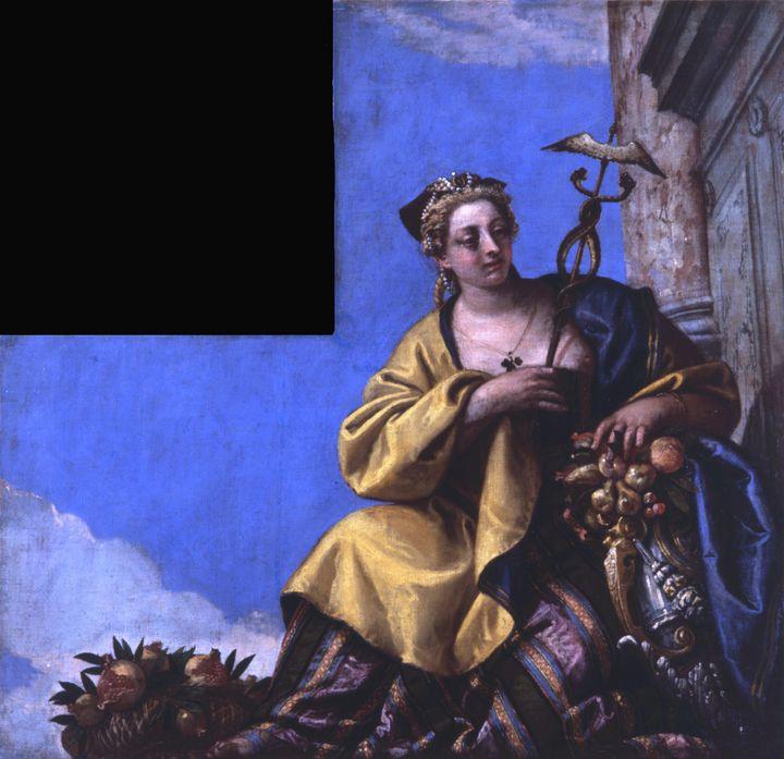 Paolo Veronese~Prosperity (cornucopi - Old master