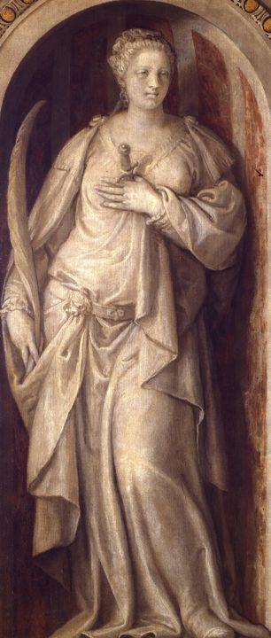Paolo Veronese~Santa Giustina - Old master