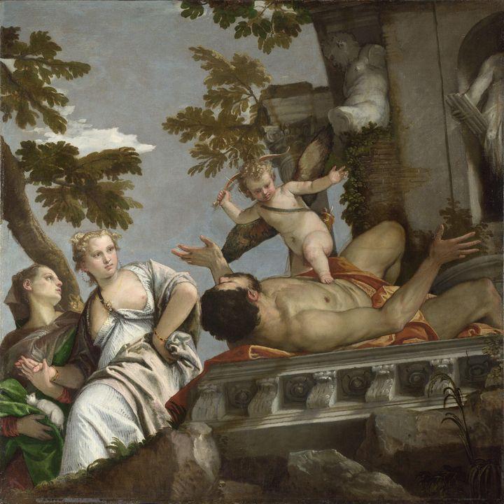 Paolo Veronese~Scorn - Old master