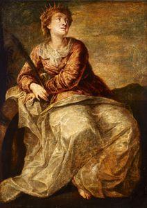 Paolo Veronese~St Catherine