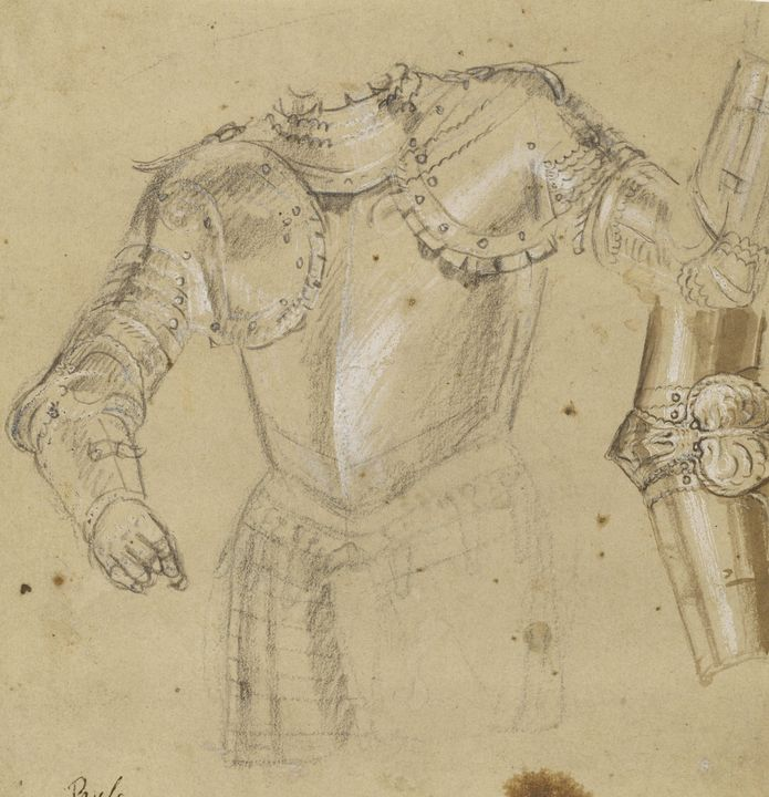 Paolo Veronese~Studies of Armor - Old master