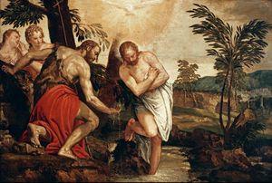 Paolo Veronese~Taufe Christi