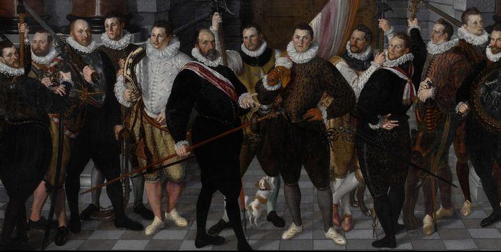 Cornelis Ketel~The Company of Captai - Old master