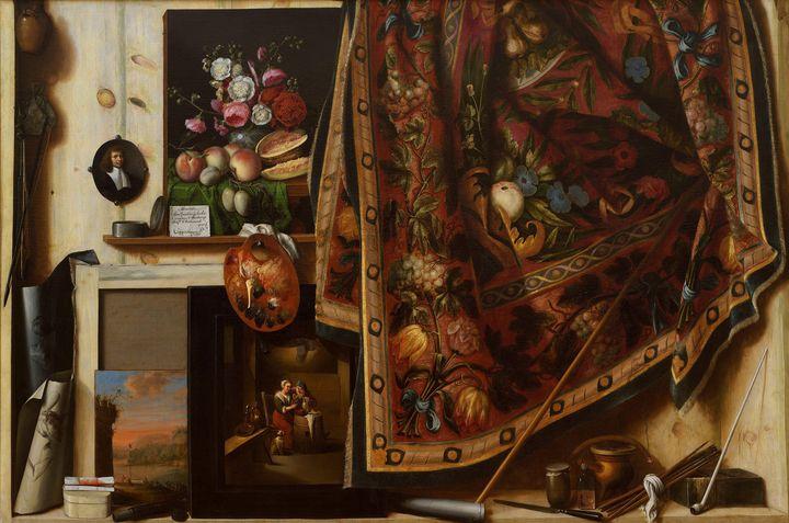 Cornelis Norbertus Gysbrechts~Trompe - Old master