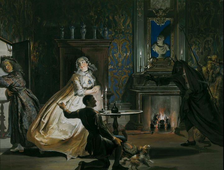 Cornelis Troost~Captain Ulrich or Gr - Old master