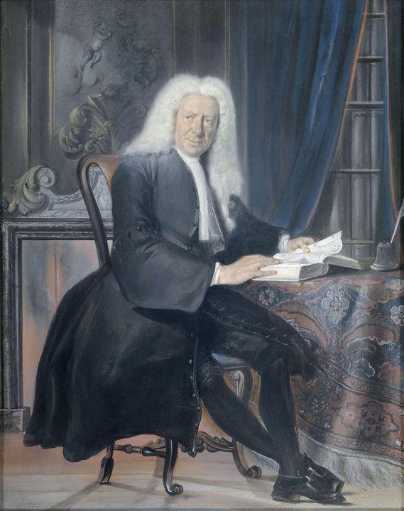 Cornelis Troost~Carel Bouman (1673-1 - Old master