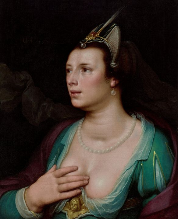 Cornelis van Haarlem~Venus - Old master