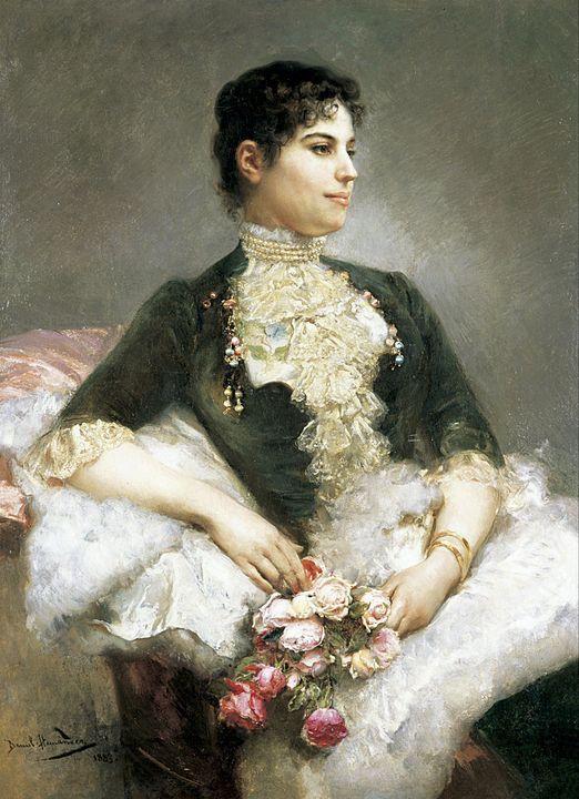 Daniel Hernández Morillo~Retrato de - Old master
