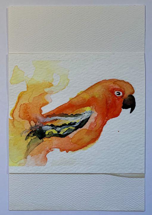 Bright Orange - Water0il.ink