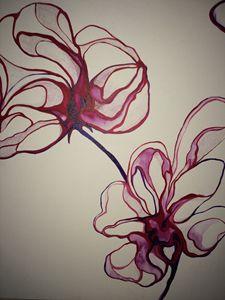 Modern Art Flowers Decors