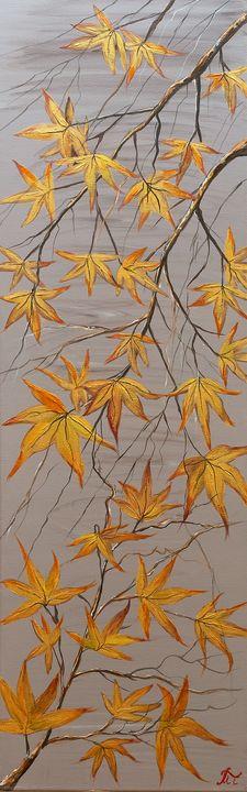 plane tree leaves - Margaret