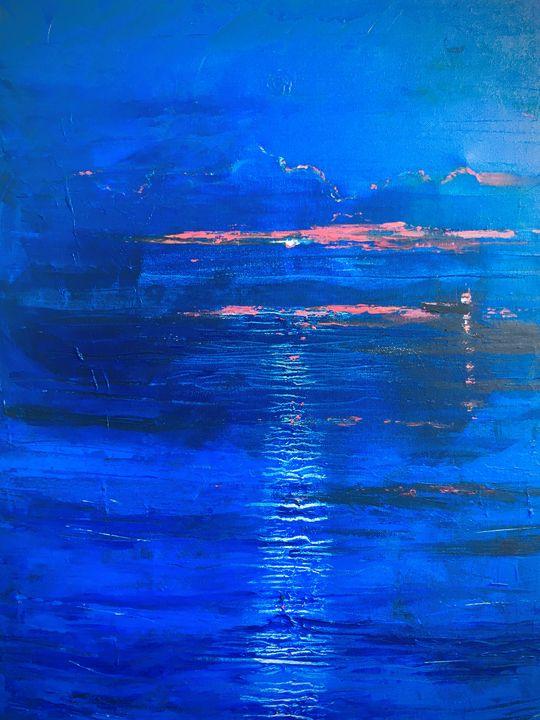 Blue night - Margaret