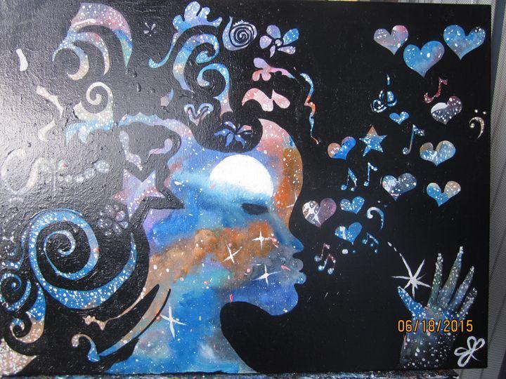 Galaxy Goddess 1 - Jackie Lozer