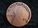 wooden handmade penny