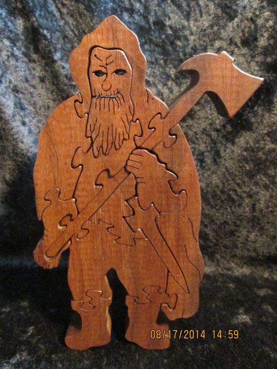 Halfling Wooden Handmade Puzzle - PXWoodNJoys