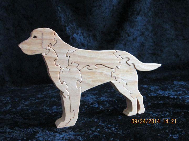 Wooden Lab Puzzle Handmade - PXWoodNJoys