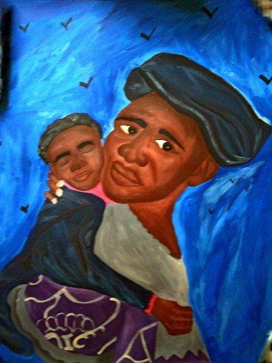 African Mother - Patrick Alvins