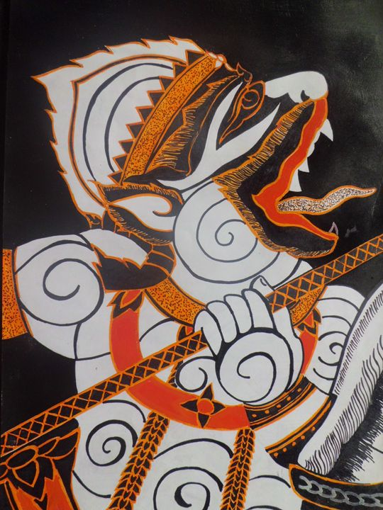 """Indonesian traditional Batique #2 - """"Suffer & Prosperous"""" Gallery"""
