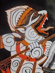 Indonesian traditional Batique #2