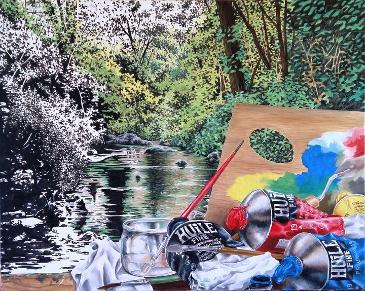 L'Art-rivière - Pierre Rouanne