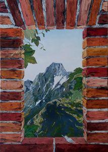 Fenestron - mont Valier