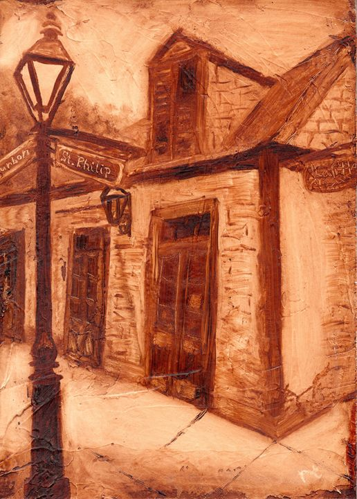 Lafitte's Blacksmith Shop - Beccas Art