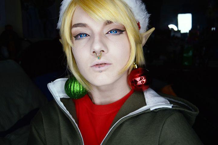 Christmas Link - Ascher Lucas- Cosplay & Makeup Prints