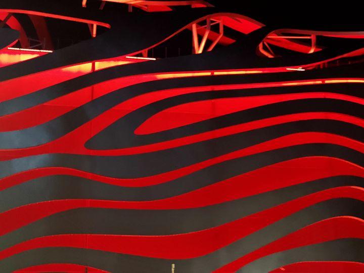 Garage in LA - Brain Art