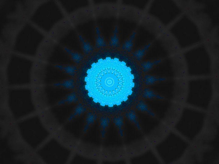 Light Blue Neutron Star - Museum of A Lot of Art MOLOA