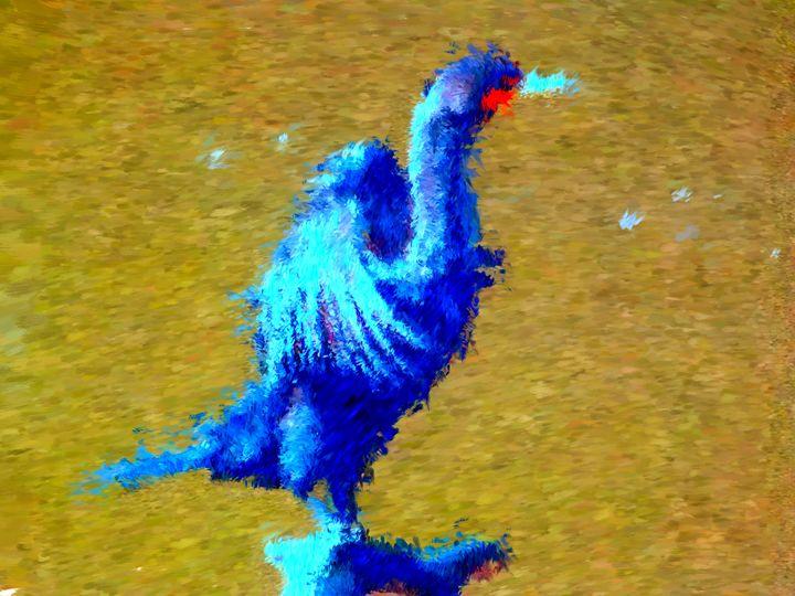 Blue Bird - Museum of A Lot of Art MOLOA