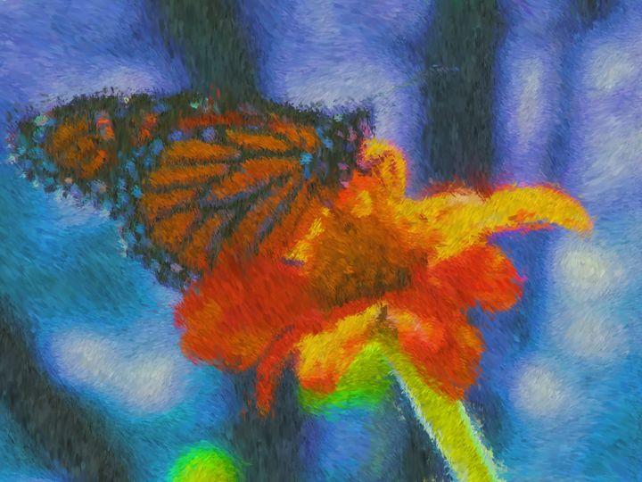 Butterfly - Museum of A Lot of Art MOLOA