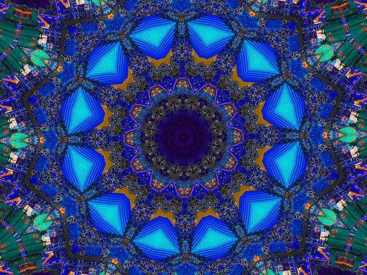 Blue Fluctuation - Museum of A Lot of Art MOLOA