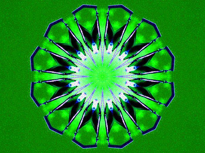 Green Diamond - Museum of A Lot of Art MOLOA