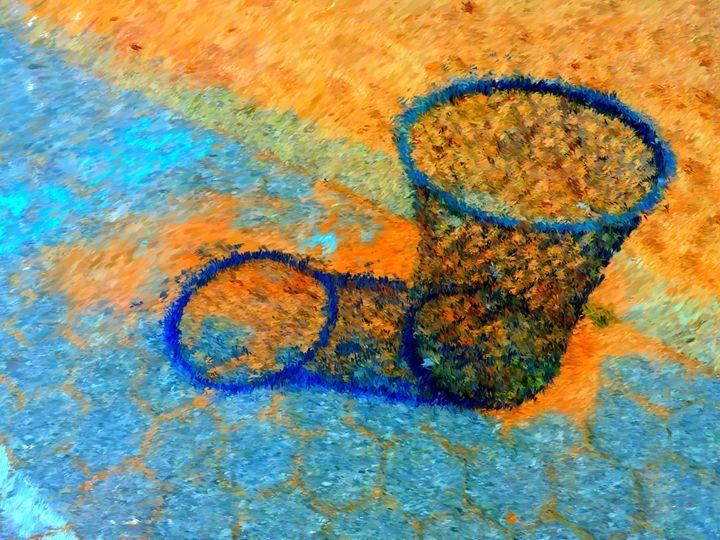 Trash Can 5 - Museum of A Lot of Art MOLOA