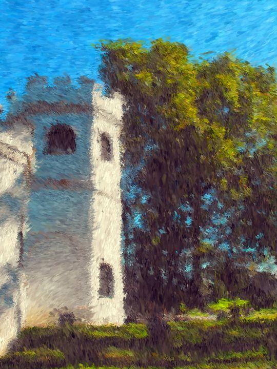 Warped Castle - Museum of A Lot of Art MOLOA