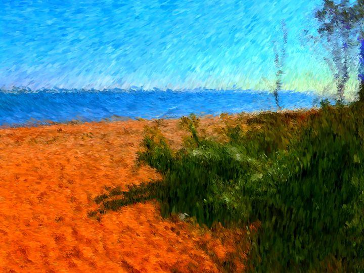 Beach Serenity - Museum of A Lot of Art MOLOA
