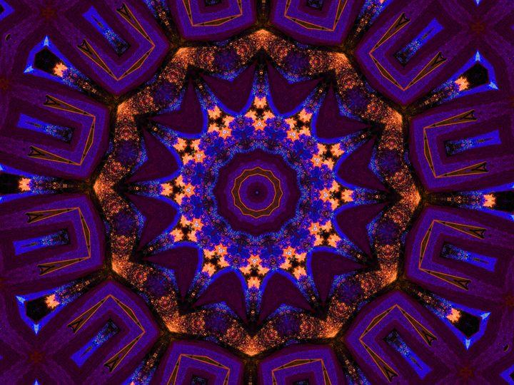 Purple Rarefaction - Museum of A Lot of Art MOLOA