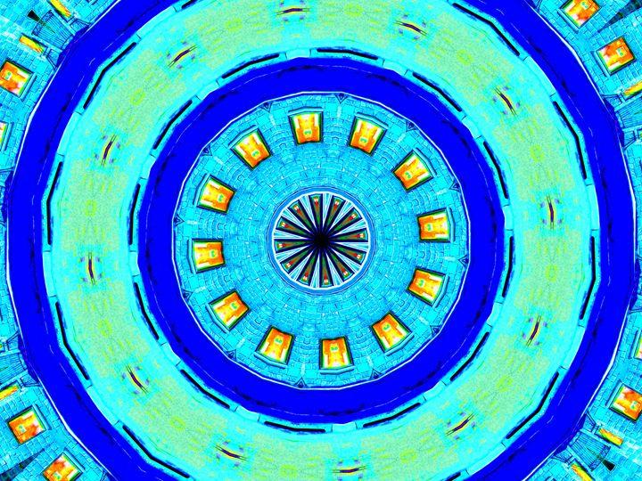 Blue Quadrante - Museum of A Lot of Art MOLOA
