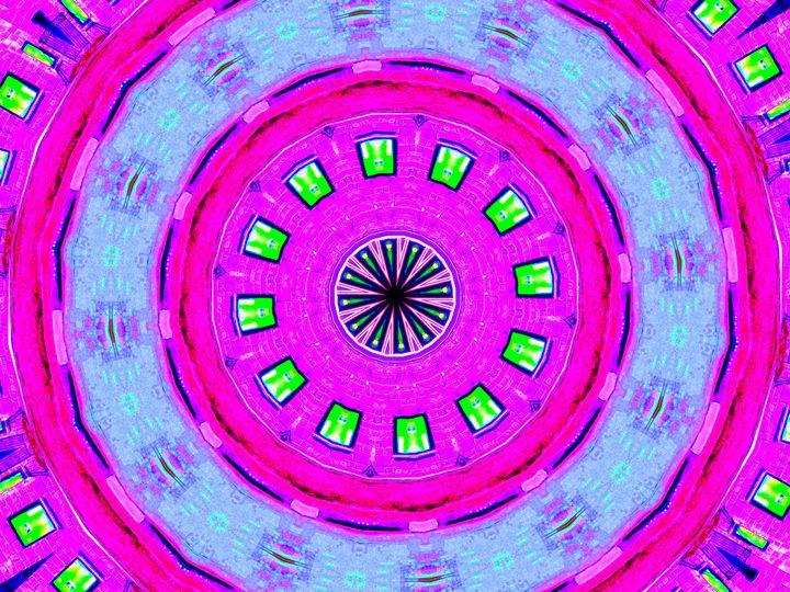 Pink Rombo - Museum of A Lot of Art MOLOA