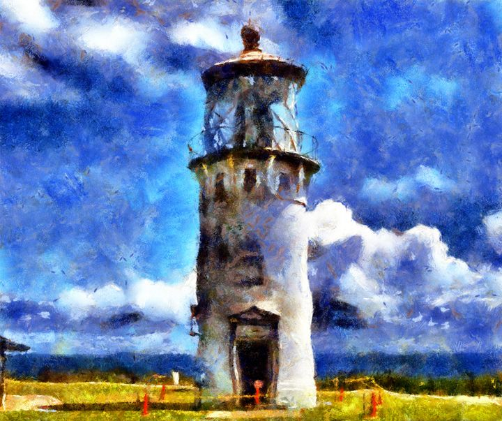 Lighthouse Representation - Museum of A Lot of Art MOLOA