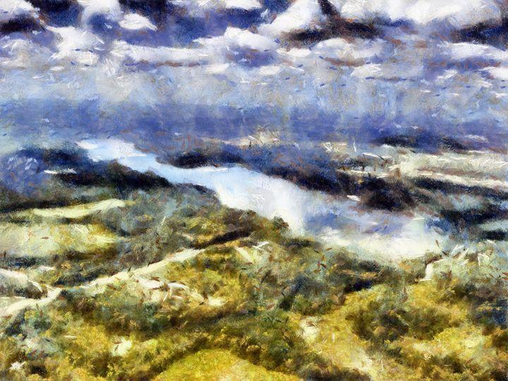 Cloudy Aspiration - Museum of A Lot of Art MOLOA