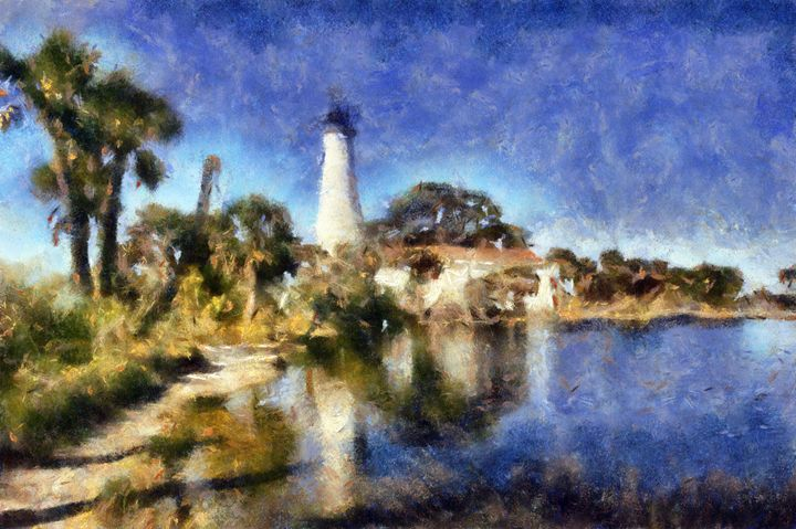 Indefatigable Lighthouse - Museum of A Lot of Art MOLOA