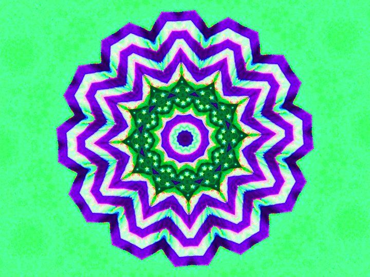 Green Hexagone - Museum of A Lot of Art MOLOA