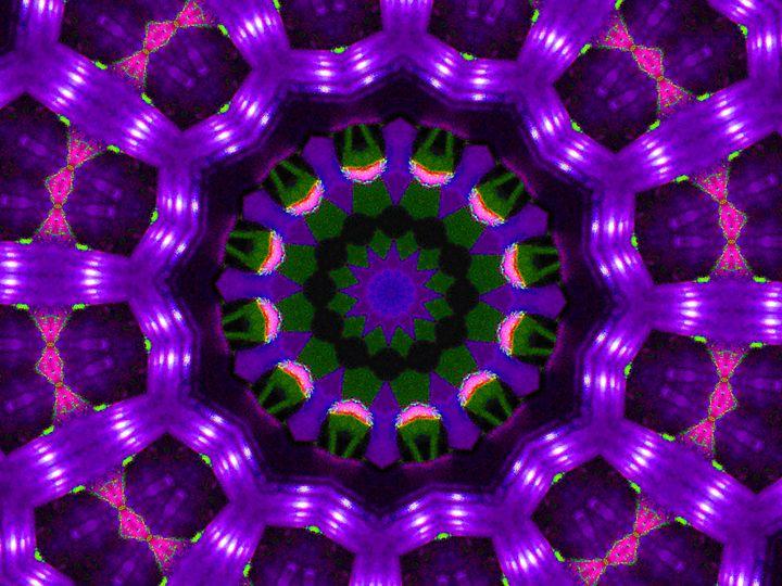 Purple Palmier - Museum of A Lot of Art MOLOA