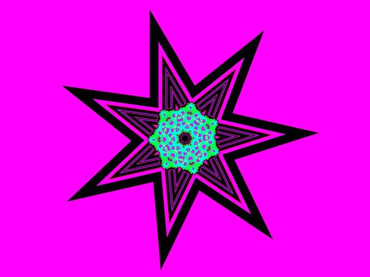Pink Constelacion - Museum of A Lot of Art MOLOA