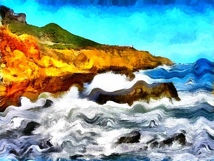 Wave Coast - Museum of A Lot of Art MOLOA