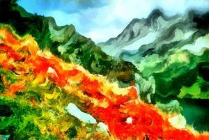 Lava Flow - Museum of A Lot of Art MOLOA