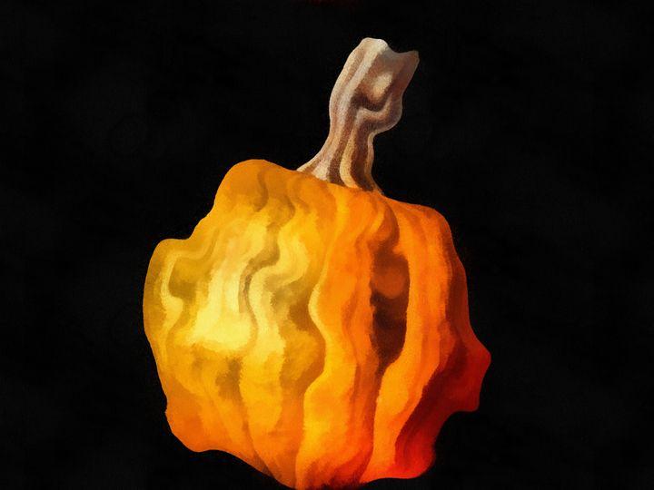 Dehydrated Pumpkin - Museum of A Lot of Art MOLOA